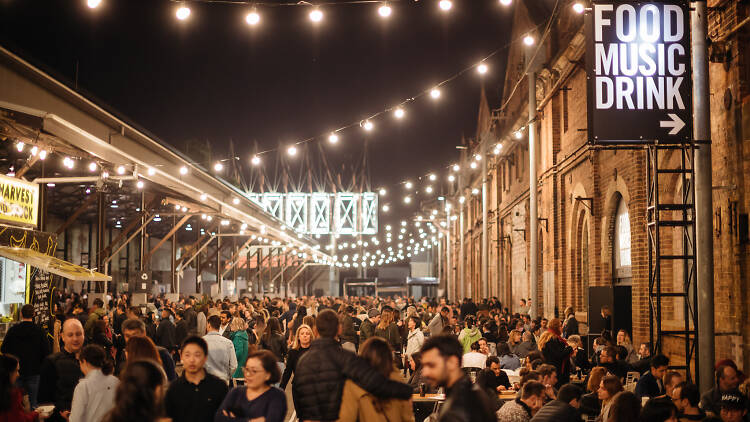 Carriageworks is a community hub