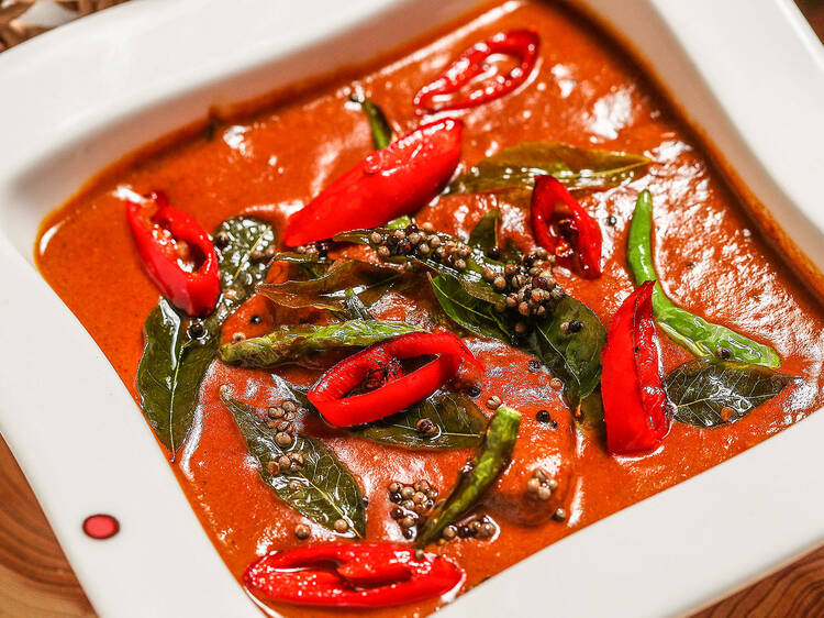 Ghost Mirchi Beef at Red Pepper Indian Restaurant and Bar