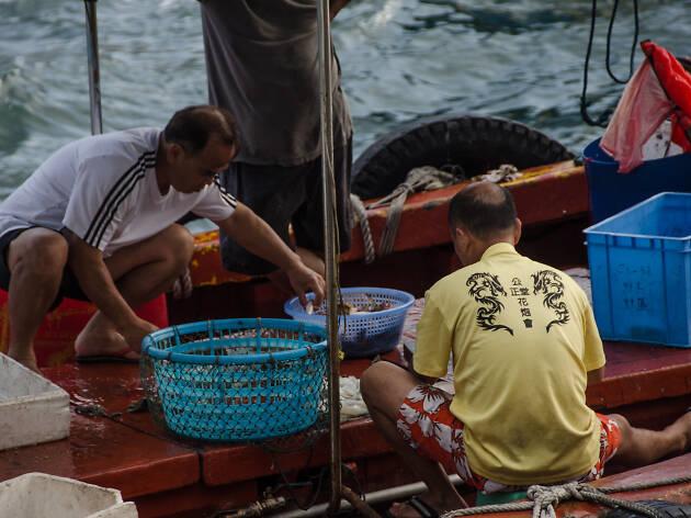 Ap Lei Chau seafood