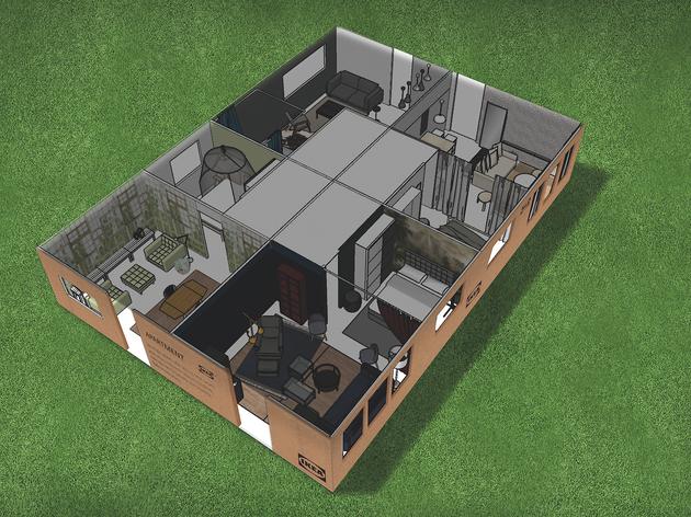 Vols viure en un pis d'Ikea dins del Primavera Sound?
