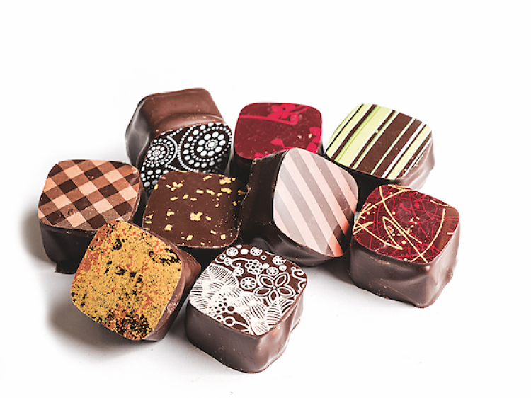 Bombons da Chocolataria Equador