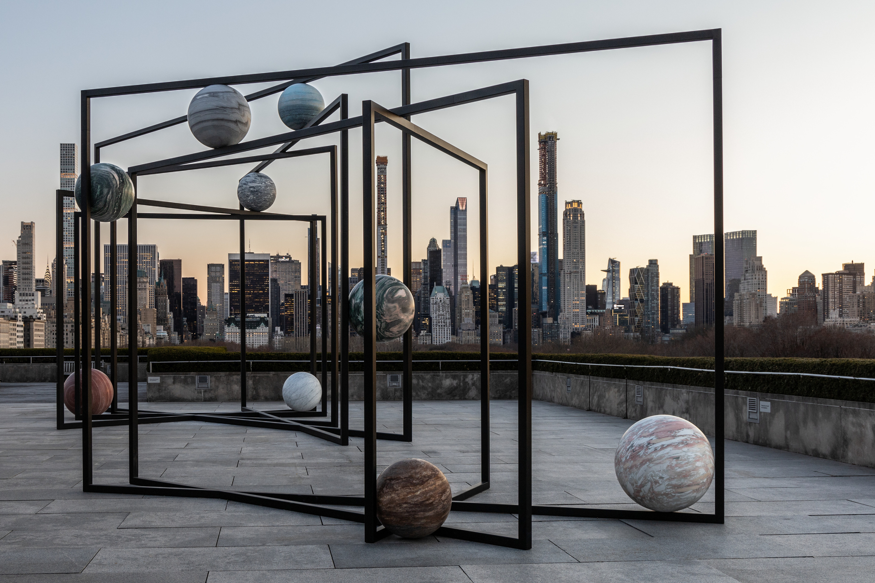 Check out the celestial new rooftop installation on top of The Metropolitan Museum Of Art