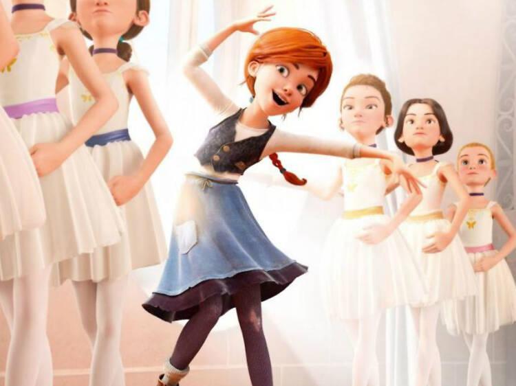 Bailarina en el Museo Nacional de las Culturas del Mundo