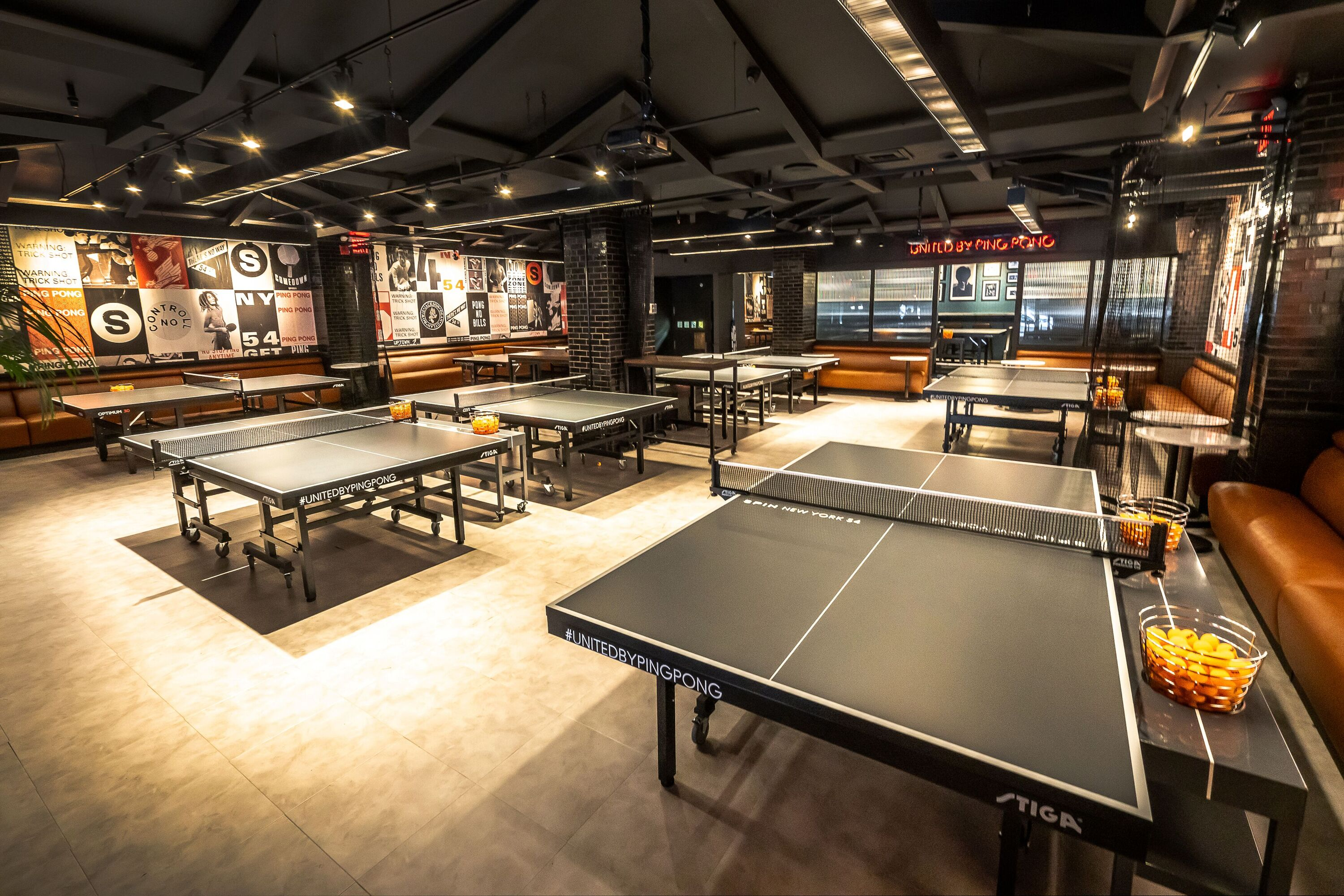 At SPIN's new bistro, ping pong is free of charge—but is the food any good?
