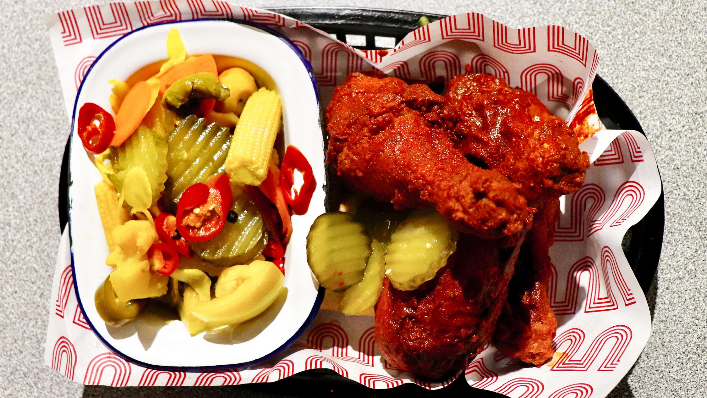 Belles hot chicken drumsticks