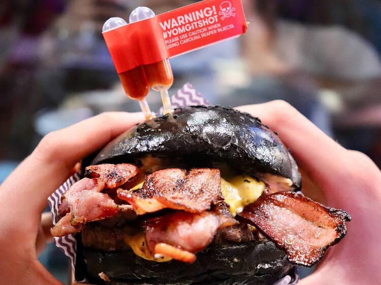 The Reaper Burger at YOMG