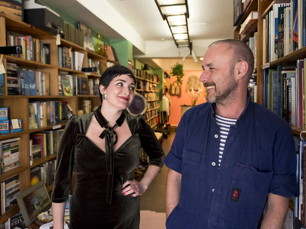 Bookshop owners Tom Hespe and Tamara Kennedy guide us through the best of Kings Cross at night