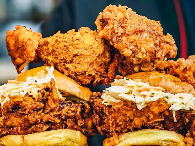 Louie's Chicken, press 2019