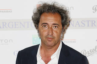 Director Paolo Sorrentio at the Nastri D'Argento - Nominees Presentation