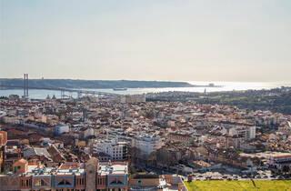 Vista sobre Lisboa e Margem Sul