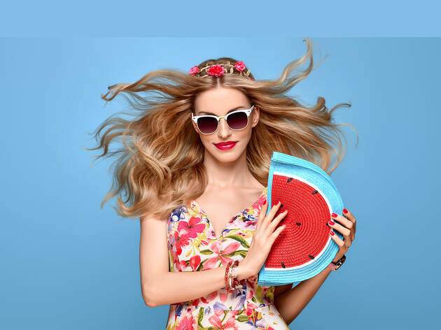 98% off a makeover and fashion shoot at Big Pictures Studios