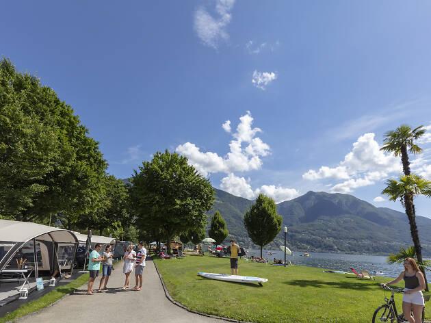 Campofelice Camping Village on the lake, for Ascona Locarno campaign