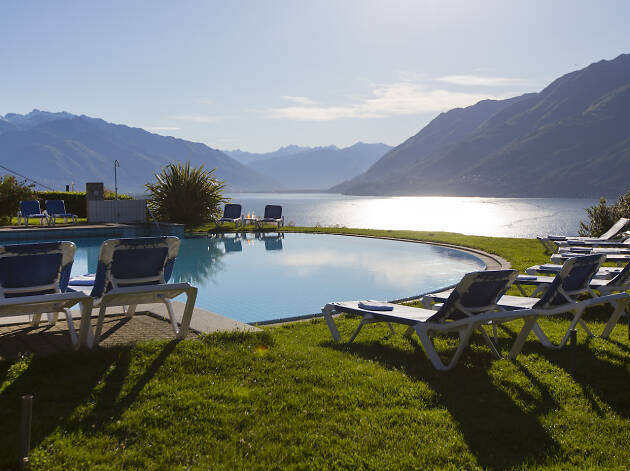 Hotel Brenscino for Ascona Locarno campaign