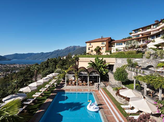 Villa Orselina for Ascona Locarno campaign
