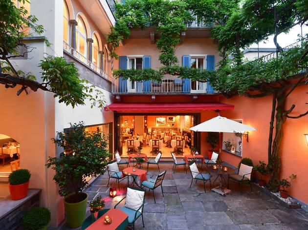 Art Hotel Riposo for Ascona Locarno campaign