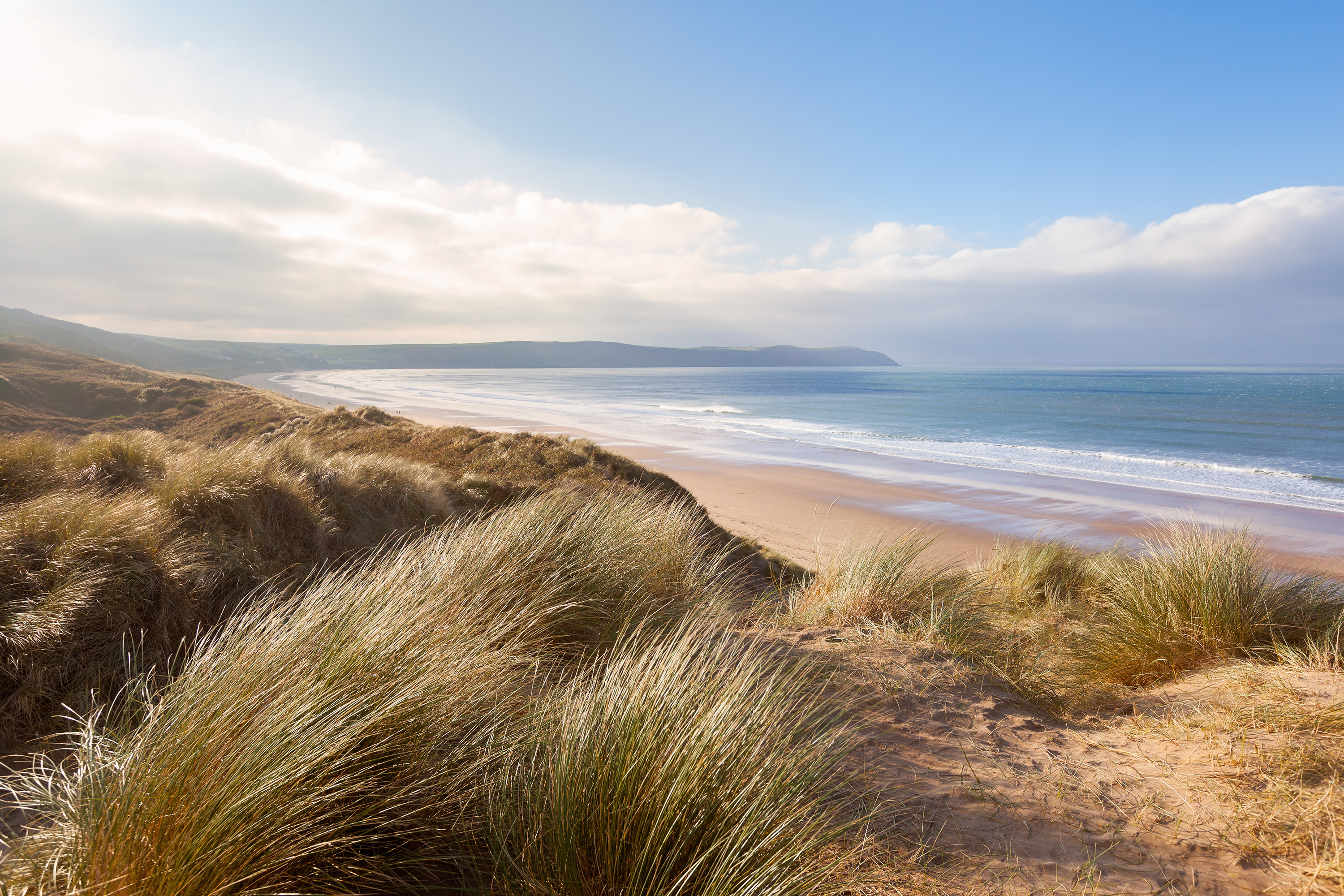 Woolacombe beach, UK