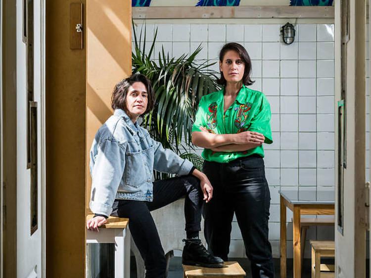 Alexandra Vidal e Clara Metais