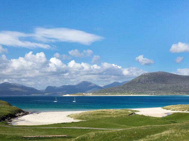 Luskentyre Beach, Isle of Harris, Scotland