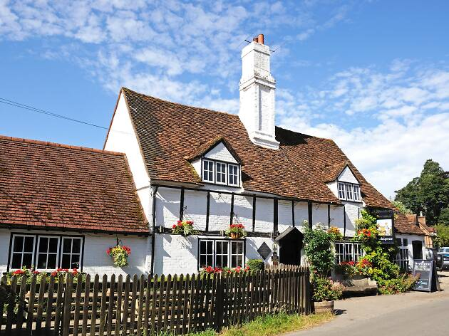 Bull and Butcher pub, Turville