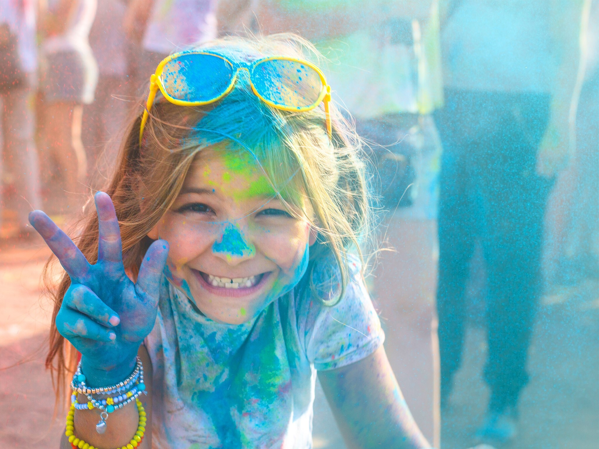 Color Fest en Kidzania
