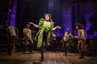 Amber Gray in Hadestown (Broadway)