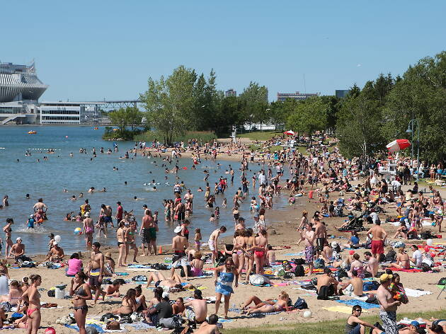 The best Montreal beaches