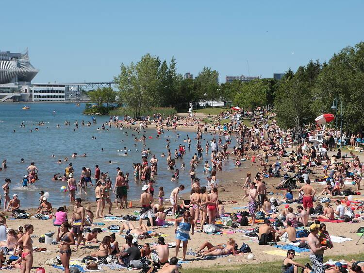 Les meilleures plages à Montréal