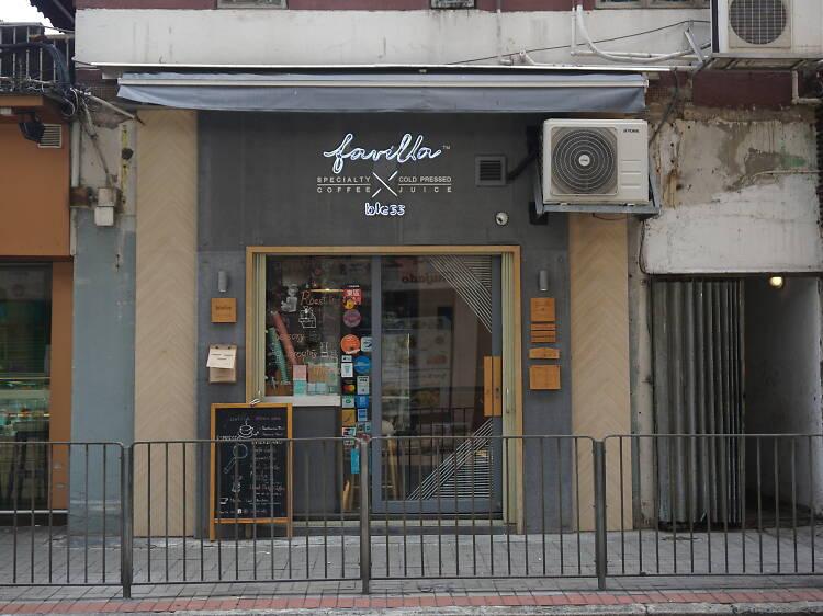 Favilla x Bless Cafe