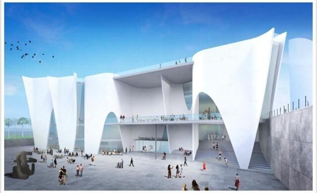 Imatge virtual del futur Museu Hermitage de Toyo Ito
