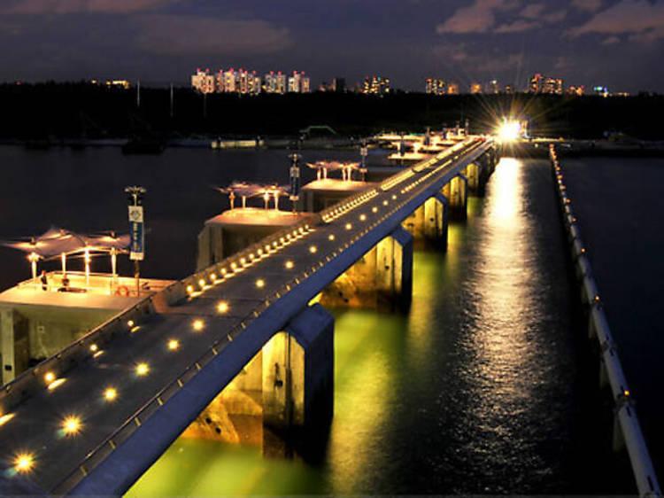 シンガポール:360度見渡す