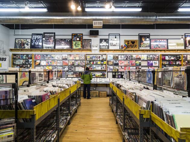 レコードショップ(シカゴ・北京・シドニー)