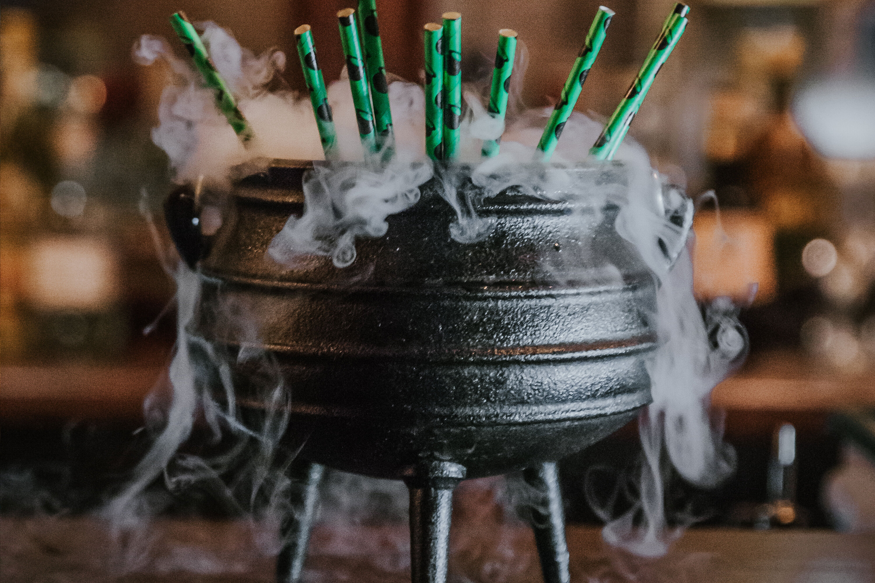 The Three Witches cocktail at The Cauldron in New York