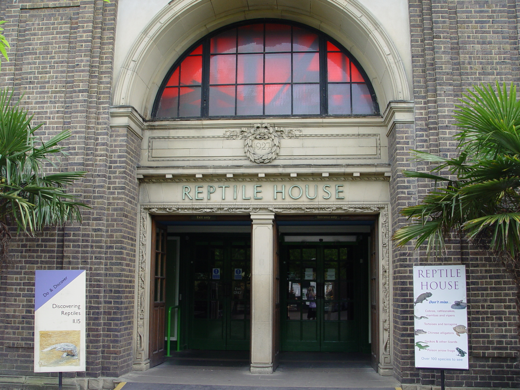 Reptile House at ZSL London Zoo