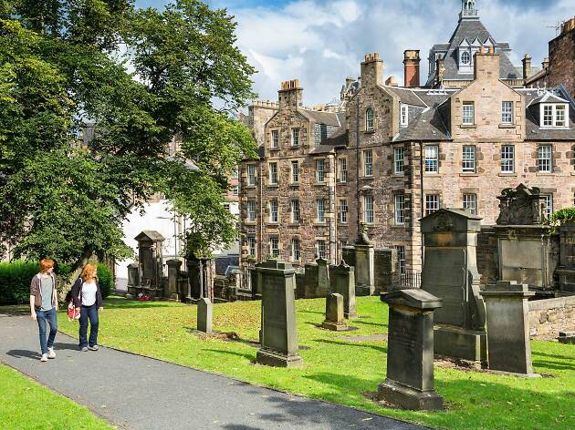 Greyfriar's Kirkyard Edinburgh