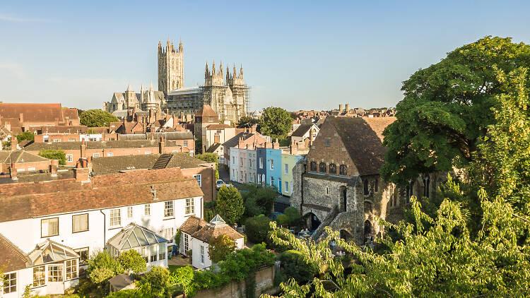Canterbury and Canterbury cathedral