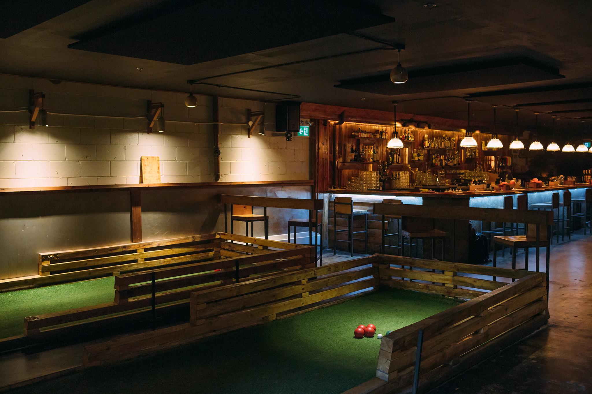 Track & Field Bar