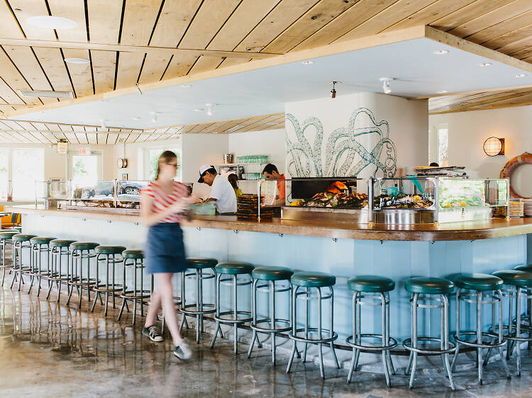 Oyster Bar at the Optimist