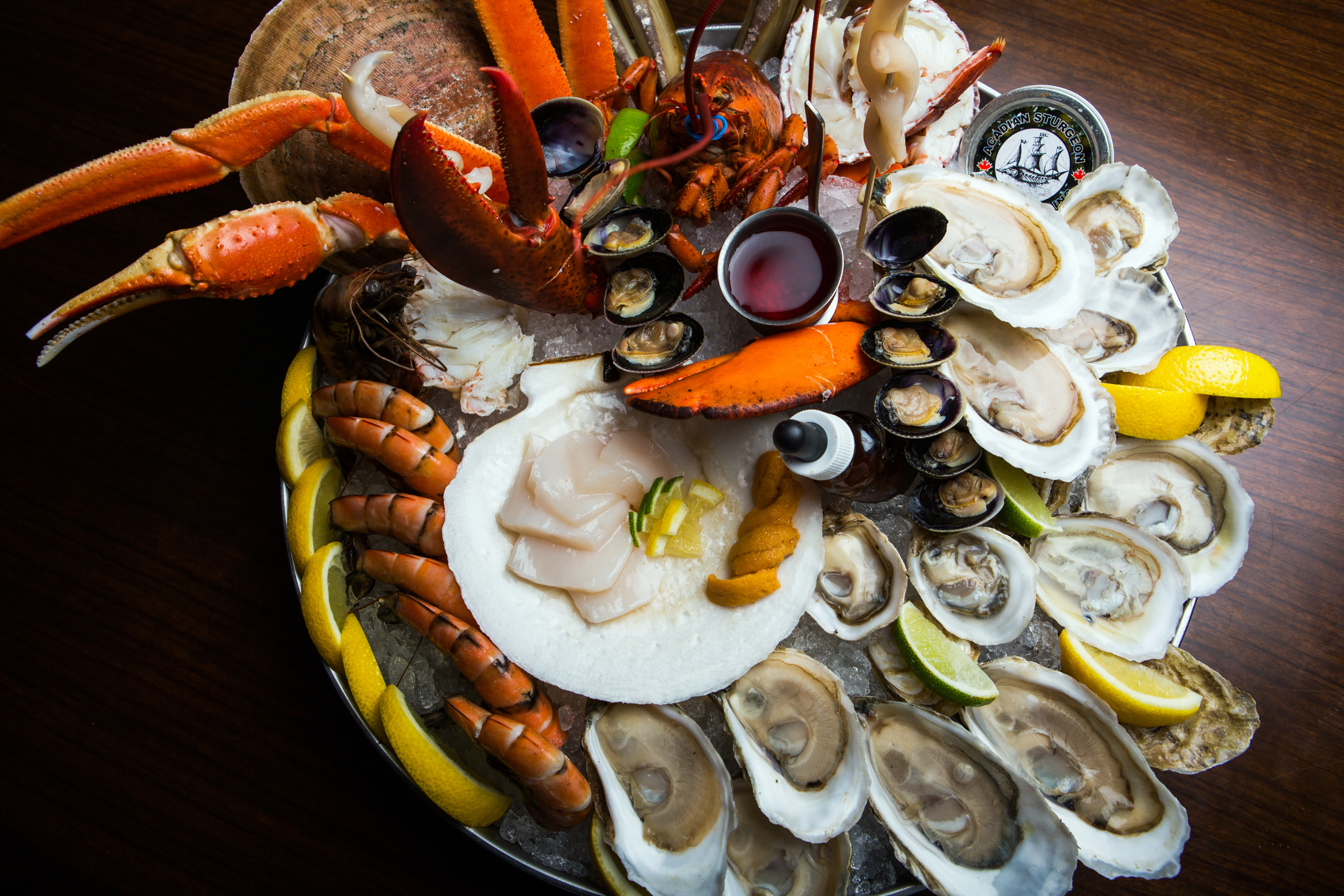 The best seafood restaurants in Montreal