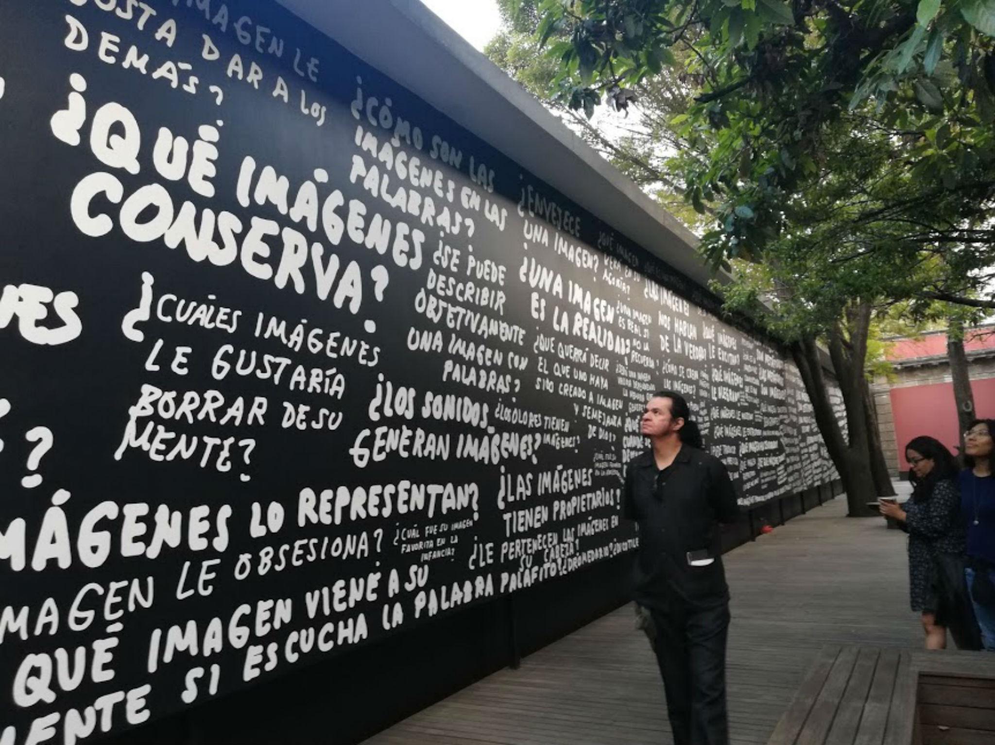 Alejandro Magallanes presenta la Imagen Invisible