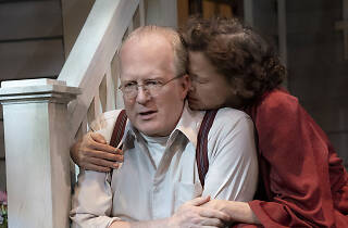 Tracy Letts and Annette Bening in All My Sons