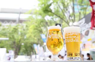 けやきひろば 春のビール祭り