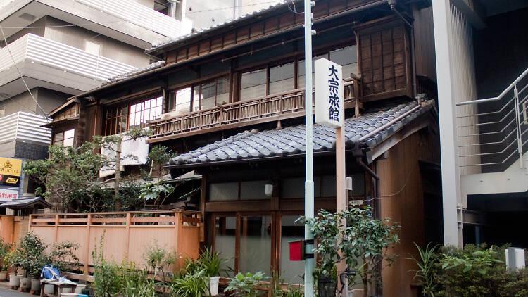 東京、和風旅館13選