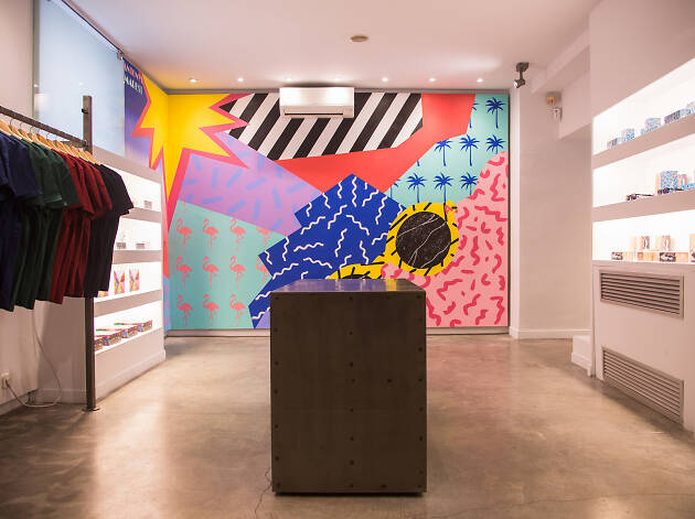 Flamingo Store flagship Madrid