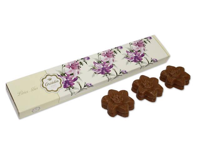 Lírios de Chocolate