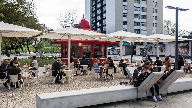 Benfica, Fonte Nova, Quiosque