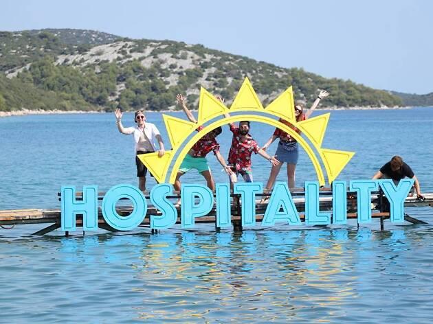 Hospitality on the beach