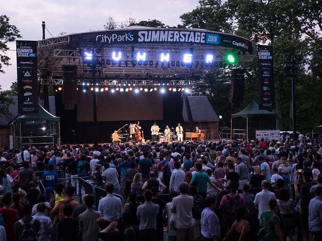 SummerStage announces the lineup for its brand-new Central Park stage
