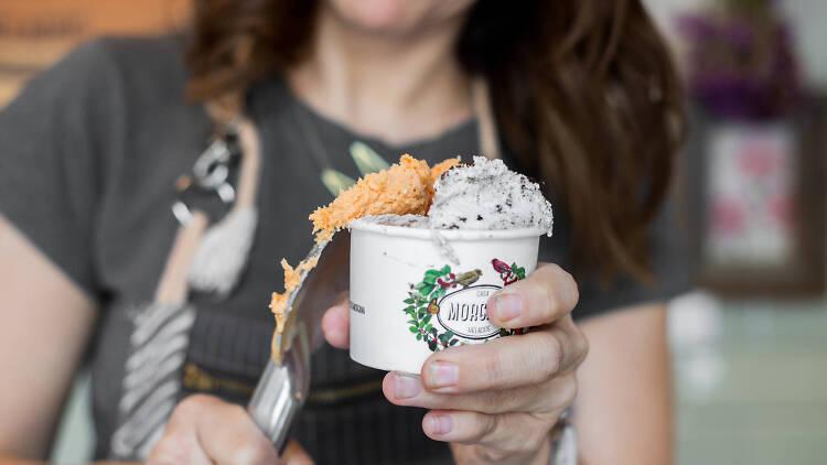 Casa Morgana helado