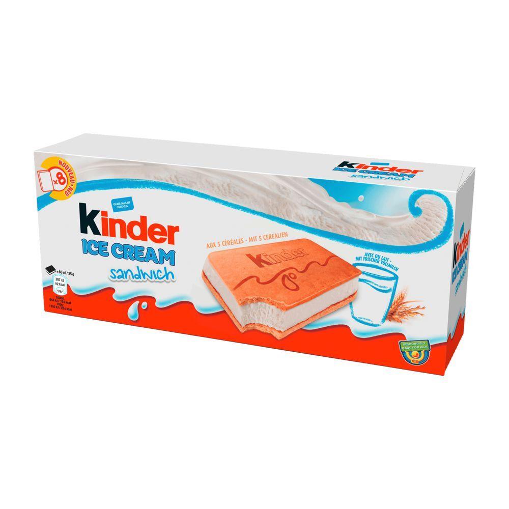 Kinder Ice Cream Sandwich