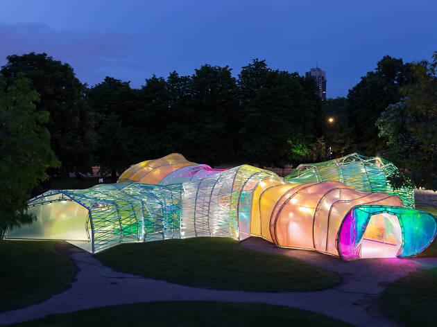 Second Home Serpentine Pavilion by SelgasCano at La Brea Tar Pits